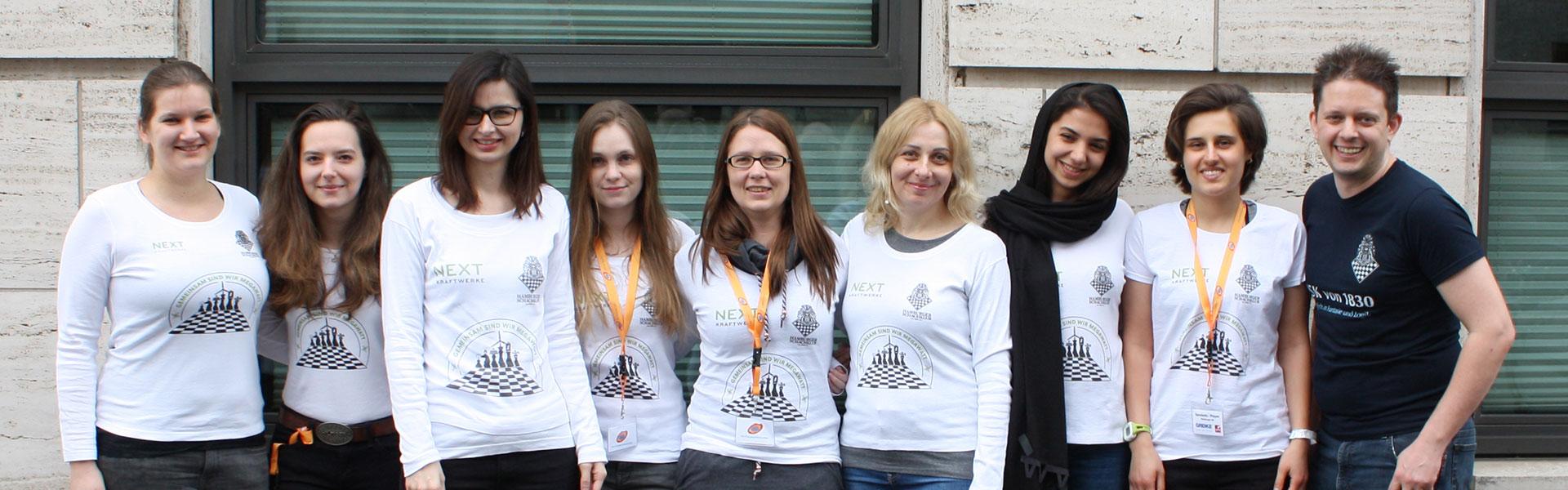 Die Frauenbundesligamannschaft des HSK