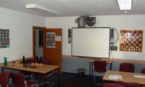 HSK-Schachzentrum Trainingsraum