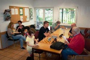HSK-Schachzentrum Wartebereich