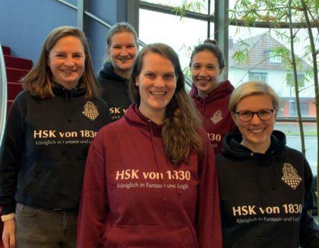 Von links: Eva Maria Zickelbein, Steffi Scognamiglio, Bettina Meyer, Ramona Neumann, Nina Höfner | Foto: Eva Maria Zickelbein