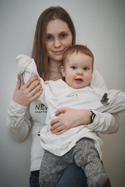 WGM Judith Fuchs mit Sohn Arthur, der hoffentlich in ein paar Jahren auch mit von der Partie ist! | Foto: Judith Fuchs