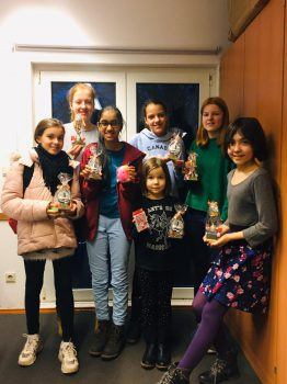 HSJB-Mädchentag im HSK-Schachzentrum