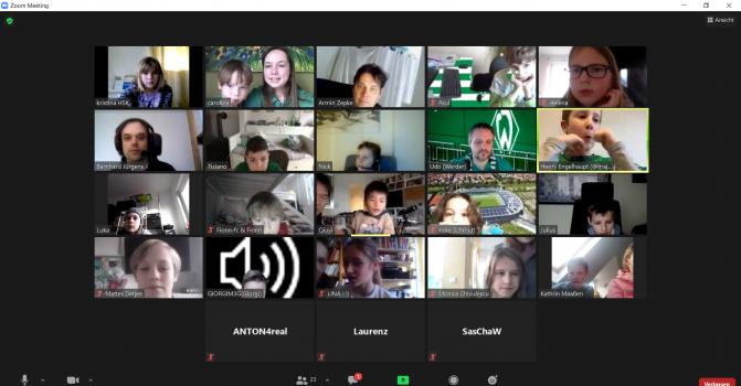 Videokonferenz Neujahrsturnier